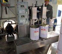 稀释剂灌装机、香蕉水灌