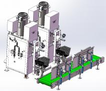 气浮式干粉砂浆包装机